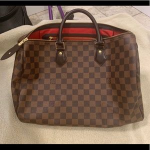 Authentic LV  Speedy 35